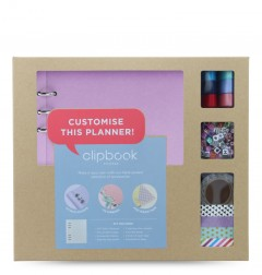 Clipbook A5 Creative Kit Orchid