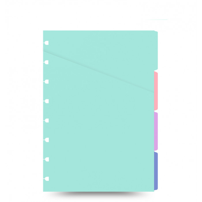 Divisori color Pastello Filofax Notebook A5