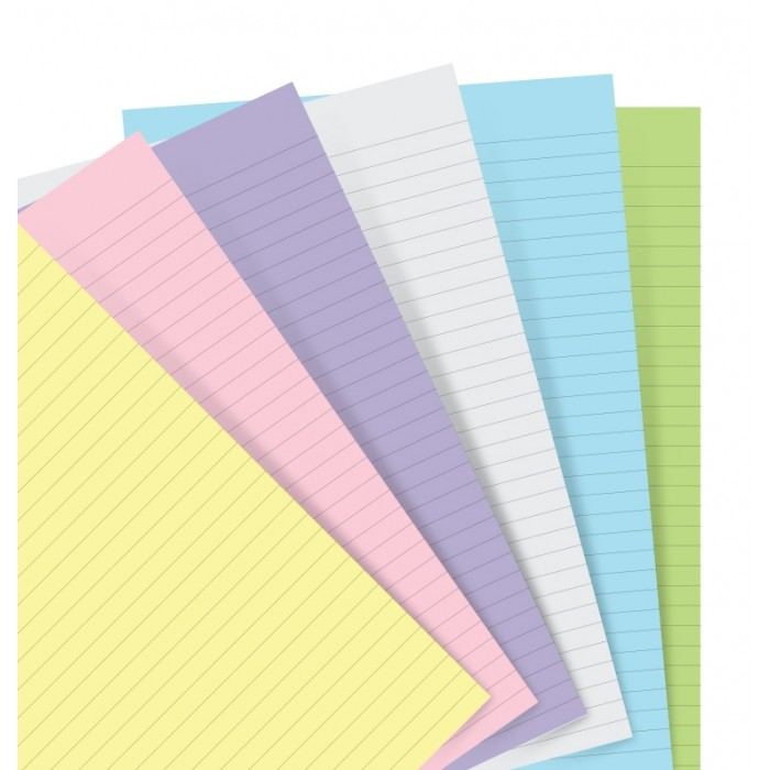 Notepaper Refill Pastello a righe